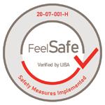 Feel safe certified by LIBA